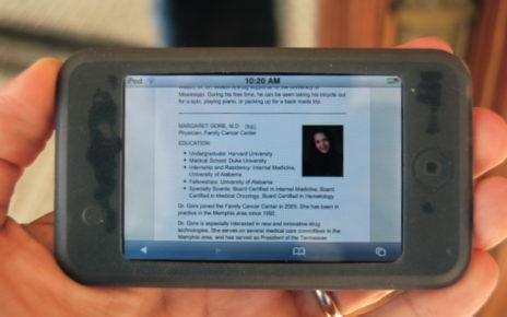 ipod serves