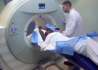 CT scan center
